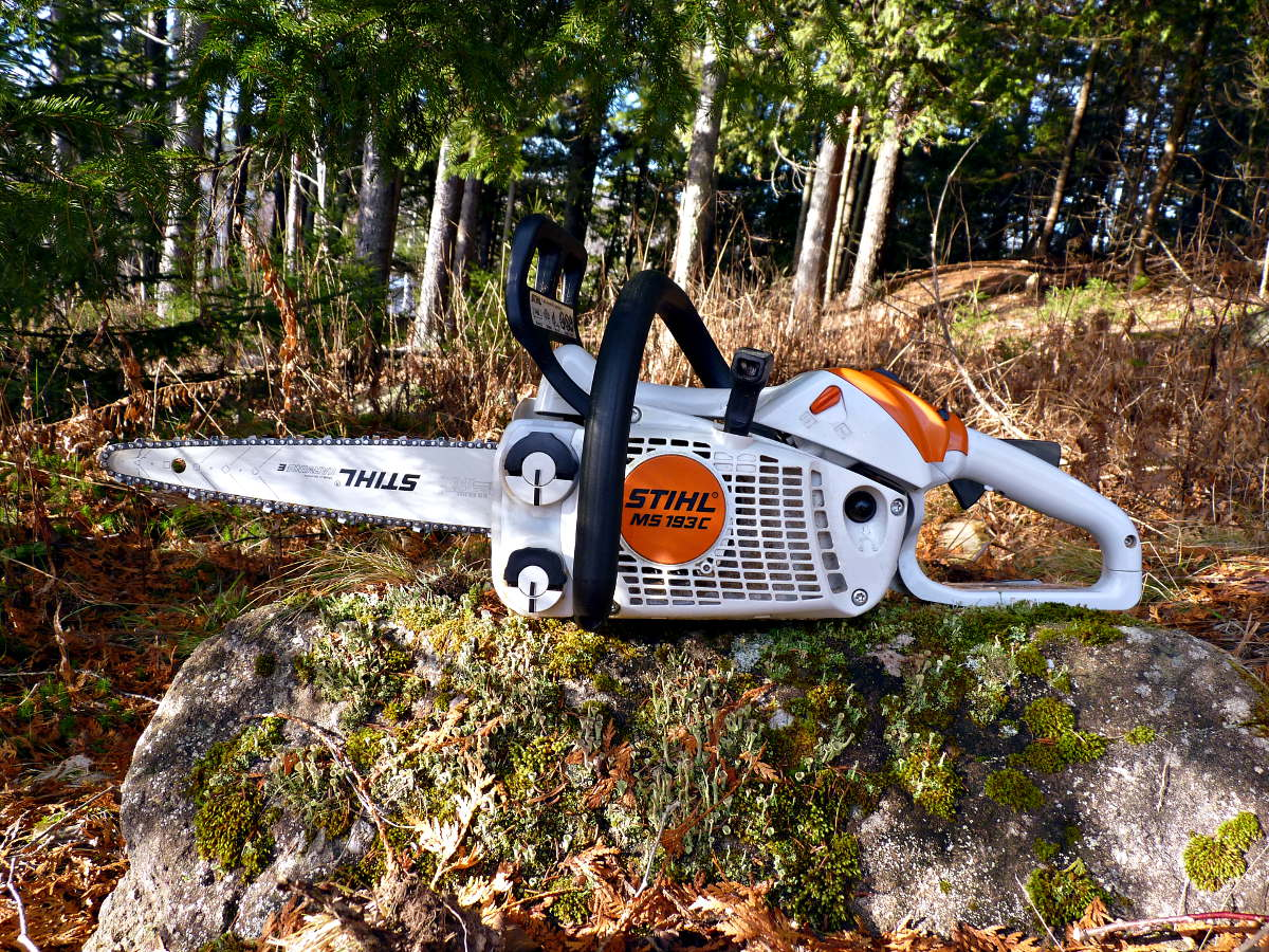 Stihl ms 193 c carving conversion adventuresinchainsawing the best chainsaw blog reviews the ms 193 c carver greentooth Gallery