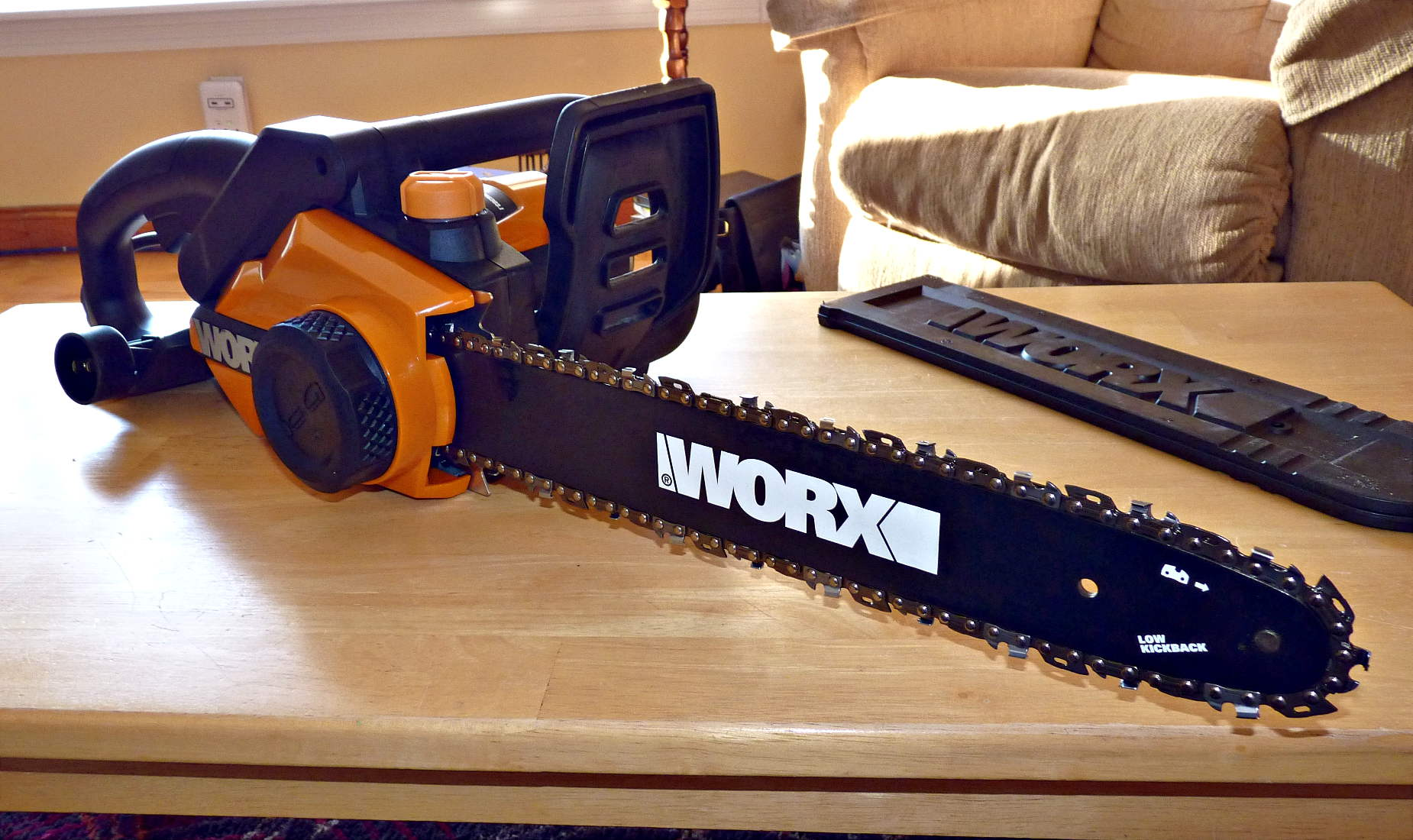 Worx Wg303 1 Electric Chainsaw Review Adventuresinchainsawing