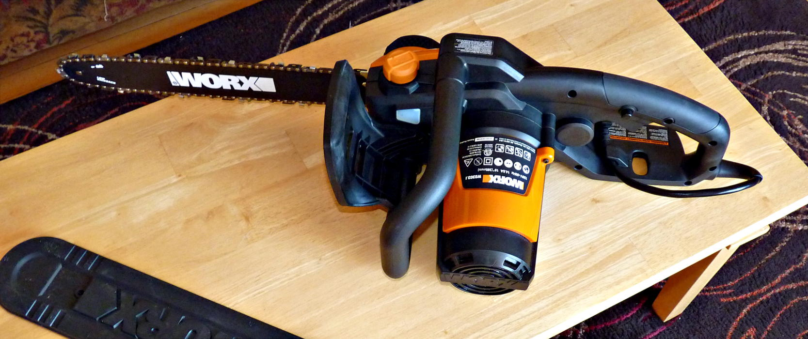 Worx wg electric chainsaw review