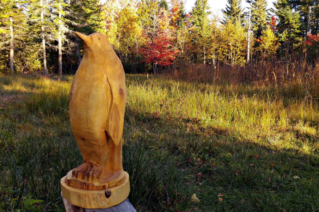 Photo and carving by A.J. Kilpatrick